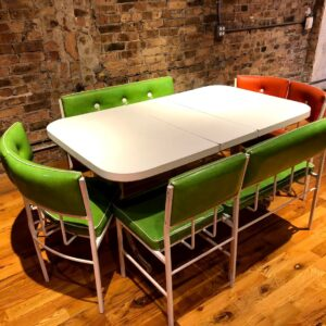 Retro Dining Table Set for Rent